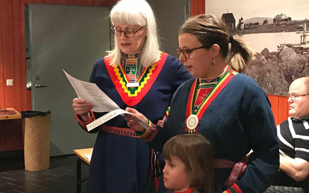 Samiska nationaldagen firades på museet